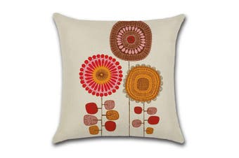 Cotton Linen Square Decorative Throw Pillow Case Cushion Cover 1