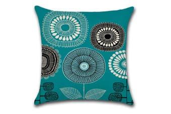 Cotton Linen Square Decorative Throw Pillow Case Cushion Cover 5