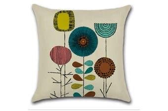 Cotton Linen Square Decorative Throw Pillow Case Cushion Cover 9