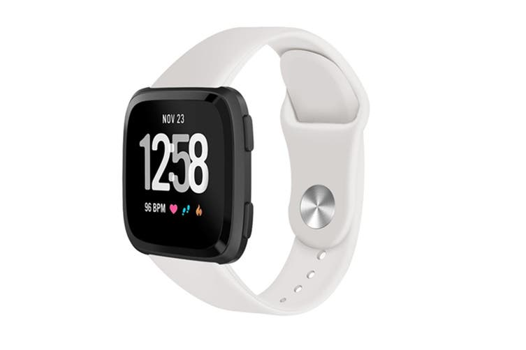 Sport Band for Fitbit Versa, Soft Silicone Strap Replacement Wristband for Fitbit Versa  S