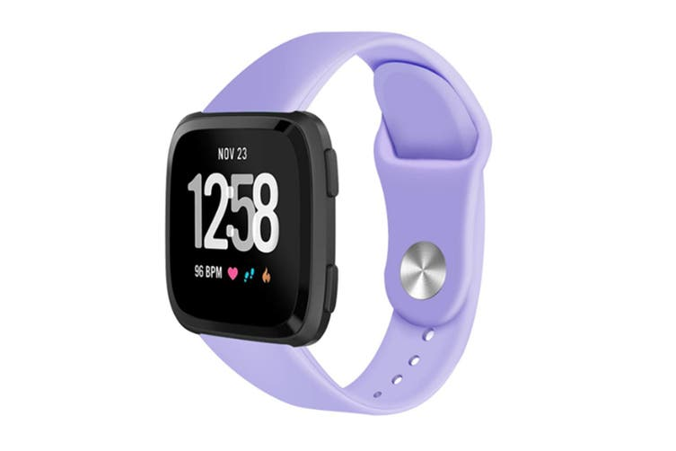 Sport Band for Fitbit Versa, Soft Silicone Strap Replacement Wristband for Fitbit Versa  L