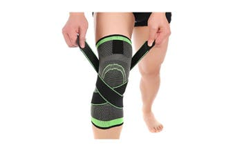 Knee Brace,Conlink Compression Support Knee Sleeve with Adjustable Strap Knee Pad for Pain Relief, L