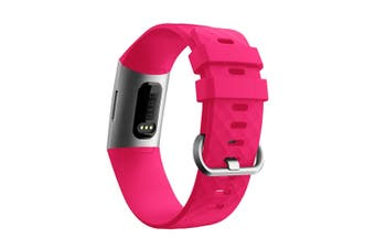 Replacement Silicone Fitbit Charge 3 Band, Sport Wrist Strap for The Fitbit Charge 3  S