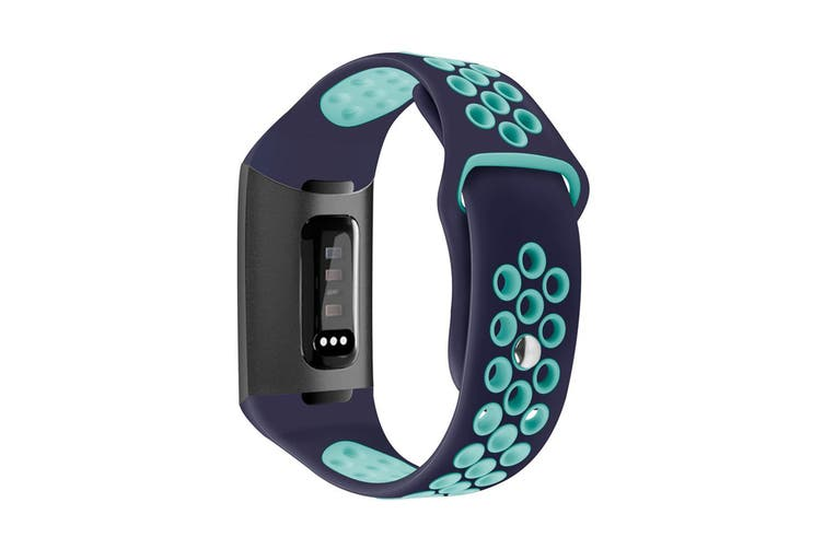 Bands Compatible for Fitbit Charge 3, Replacement Accessory Sport Band Compatible for Fitbit Charge 3 - Size L