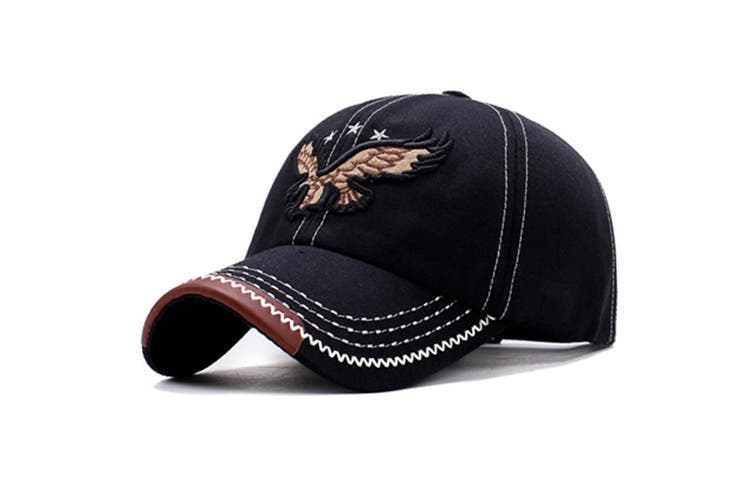 Eagle Embroidery Baseball Cap Embroidery Curved Bill Dad Hat Cotton Strapback Y000057