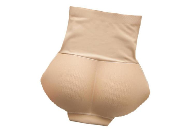 Seamless High Waist Butt Padded Panty with Tummy Trimmer XL