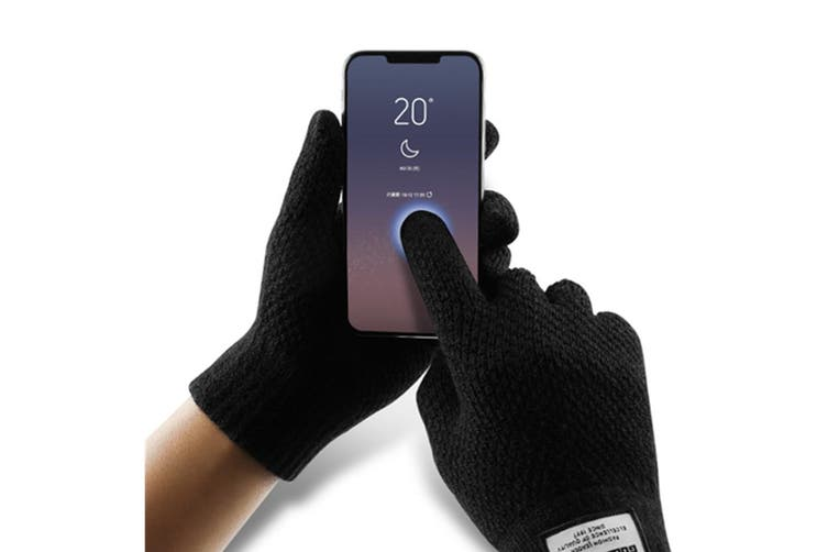 Men's Knitted Touchscreen Winter Gloves Y000188