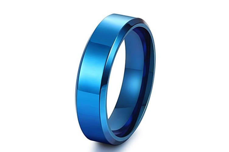 6MM Stainless Steel  Engagement Wedding Rings for Men Women 4