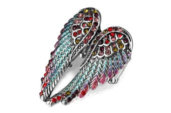 ngel wings stretch ring women bling jewelry Colored