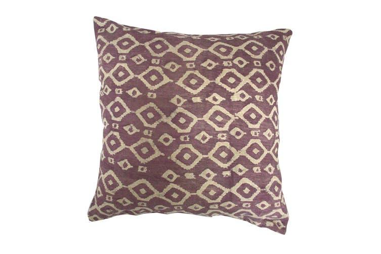 Aubergine Diamond Cushion Cover