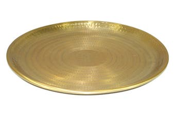 Brass Finish Tray