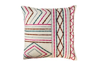 Cotton stitiched cushion