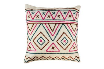 Cotton stitched cushion