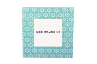 Screen printed Blue Bone frame