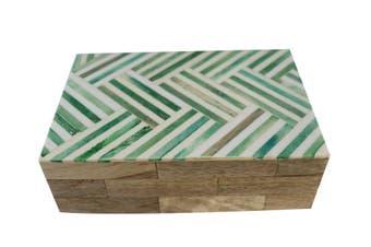 Green /white bone boxes