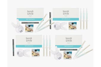 Squad Pack - 4 x Ultimate Teeth Whitening Kits