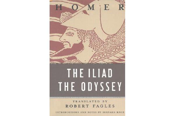 comparison of the iliad the odyssey