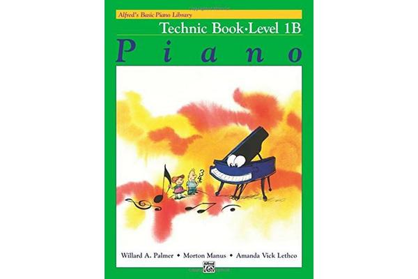 Alfred's Basic Piano Library Technic, Bk 1b
