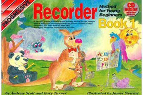 Progressive Recorder Method for Young Beginners
