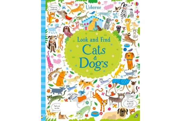 Look and Find - Cats and Dogs