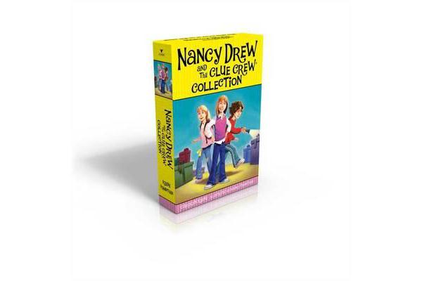 The Nancy Drew and the Clue Crew Collection - Sleepover Sleuths; Scream for Ice Cream; Pony Problems; The Cinderella Ballet Mystery; Case of the Sneaky Snowman