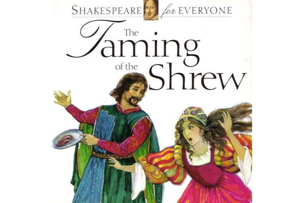 a discussion of shakespeares taming of the shrew Last week in a discussion on facebook i was trying to convince liz to watch the shakespeare retold version of the taming of the shrew, since rufus sewell is to die for in it.