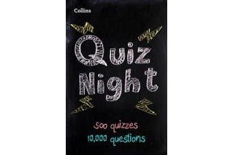Collins Quiz Night - 10,000 Original Questions in 500 Quizzes