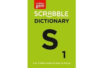 SCRABBLE (R) Dictionary Gem Edition - The Words to Play on the Go