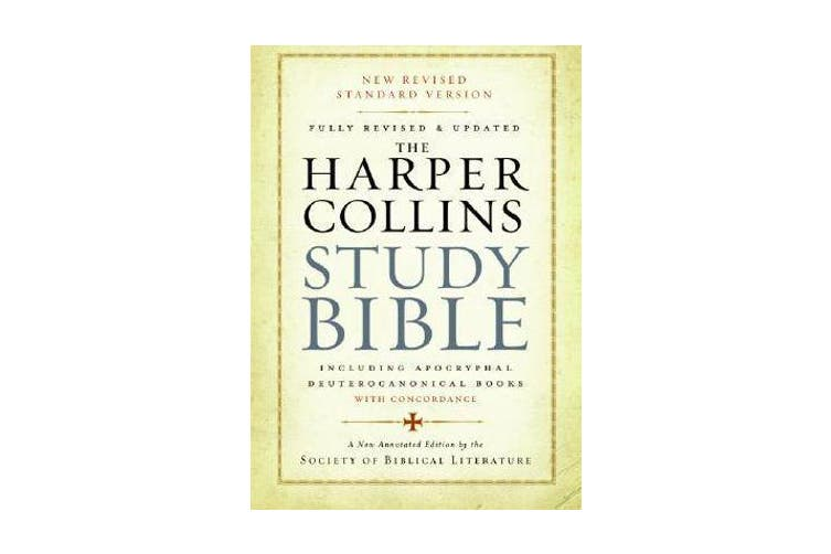 The HarperCollins Study Bible - Fully Revised With Concordance