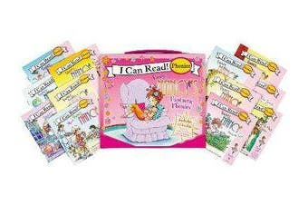 Fancy Nancy's 12-Book Fantastic Phonics Fun! - Includes 12 Mini-Books Featuring Short and Long Vowel Sounds