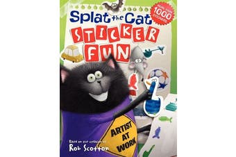 Splat the Cat - Sticker Fun