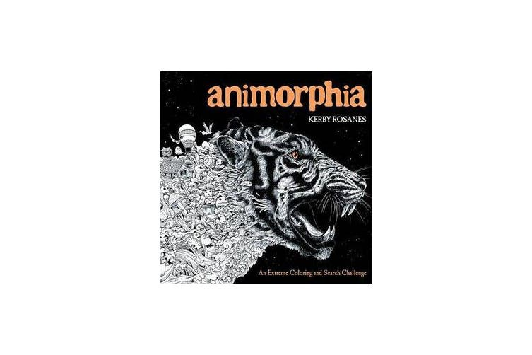 Animorphia - An Extreme Coloring and Search Challenge