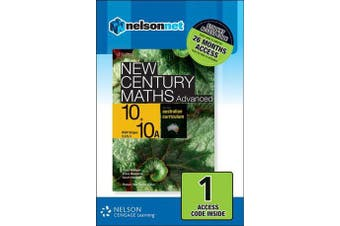 New Century Maths Advanced 10+10A for the Australian Curriculum NSW Stage 5.2/5.3 (1 Access Code)
