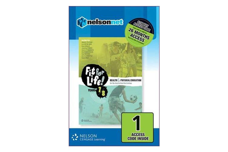 Nelson Fit for Life! Years 7 & 8 Student Website 1-Code Access Card