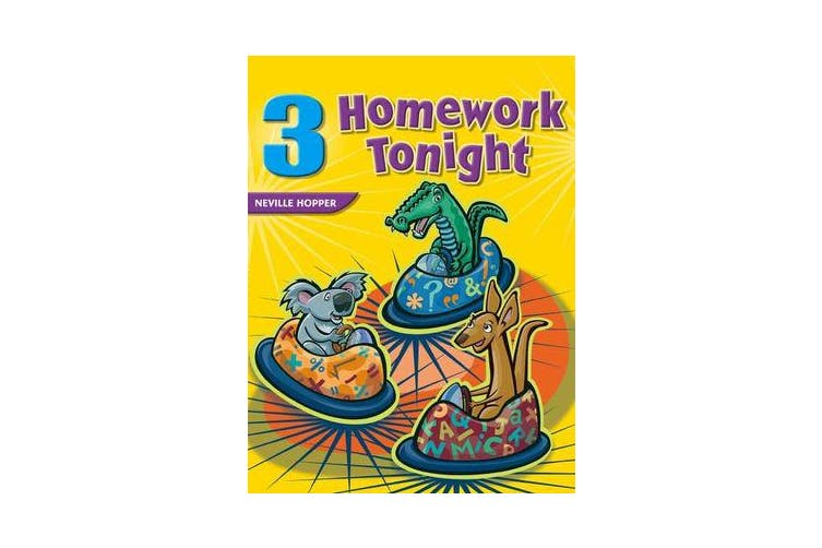 Homework Tonight - Book 3