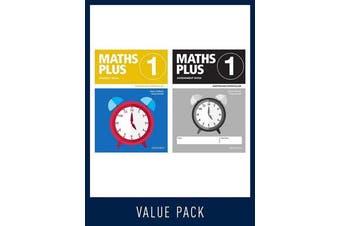 Maths Plus Australian Curriculum Student and Assessment Book 1 Value Pack, 2020