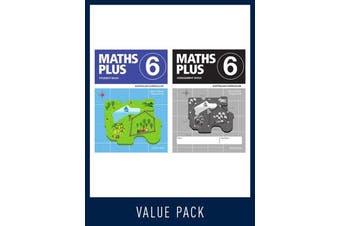 Maths Plus Australian Curriculum Student and Assessment Book 6 Value Pack, 2020