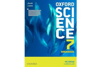 Oxford Science 7 Victorian Curriculum Student book + obook assess