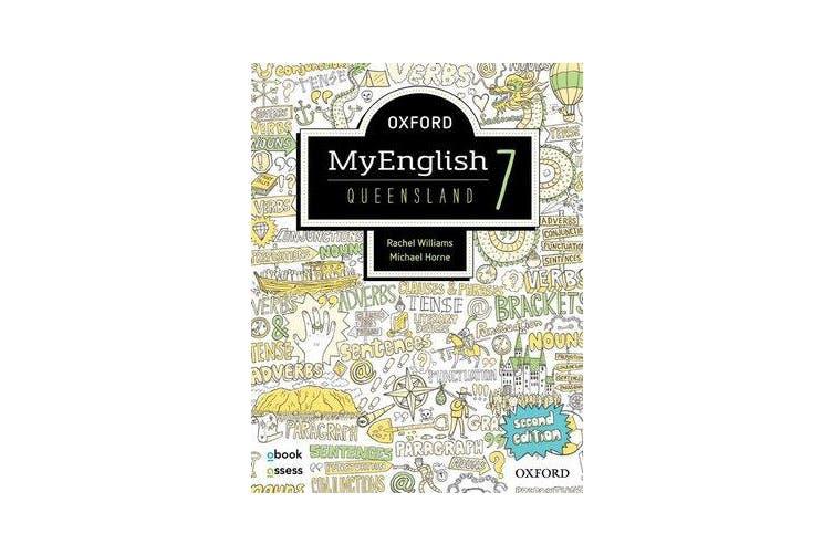 Oxford MyEnglish 7 QLD Student book + obook assess