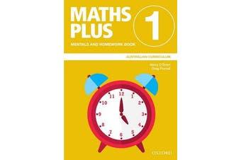 Maths Plus Australian Curriculum Mentals and Homework Book 1, 2020