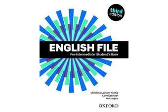 English File - Pre-Intermediate: Student's Book