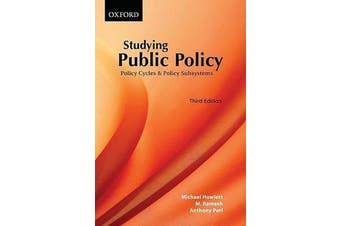 Studying Public Policy - Policy Cycles and Policy Subsystems