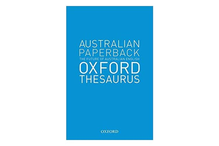 Australian Oxford Paperback Thesaurus