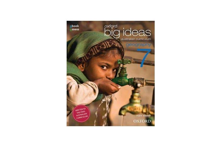 Oxford Big Ideas Geography 7 Australian Curriculum Student book + obook assess