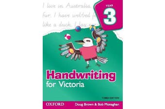 Handwriting for Victoria Year 3 - Year 3