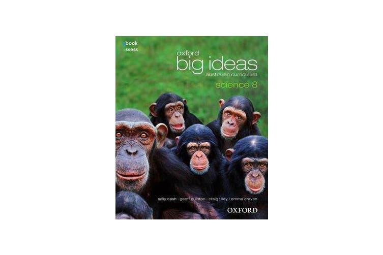 Oxford Big Ideas Science 8 Australian Curriculum Student book + obook assess