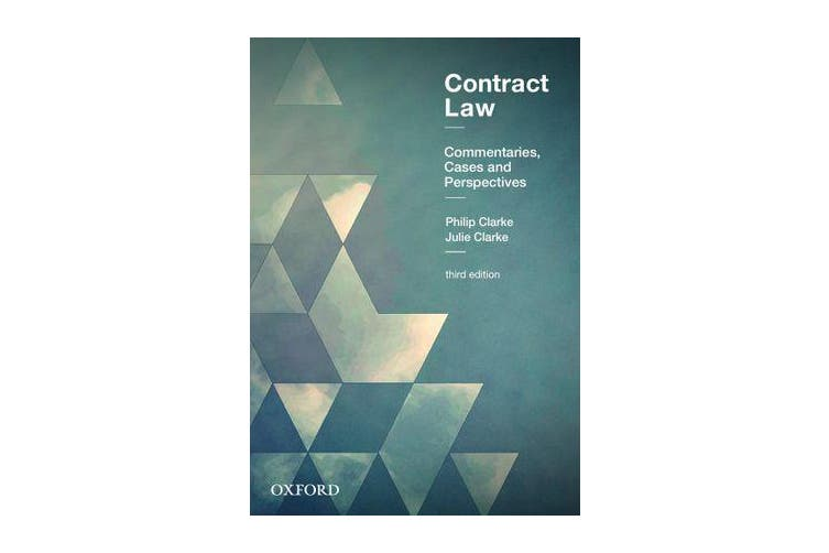 Contract Law - Commentaries, Cases and Perspectives