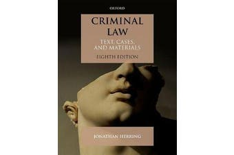 Criminal Law - Text, Cases, and Materials