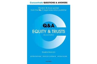 Concentrate Questions and Answers Equity and Trusts - Law Q&A Revision and Study Guide