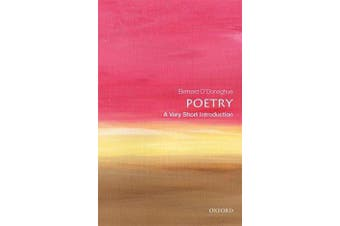 Poetry - A Very Short Introduction